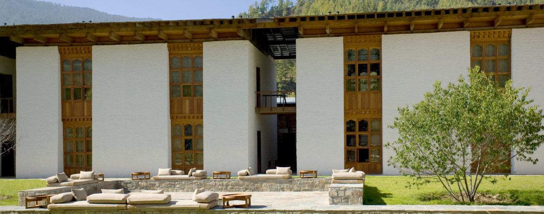 hôtel de luxe Bhoutan Amankora