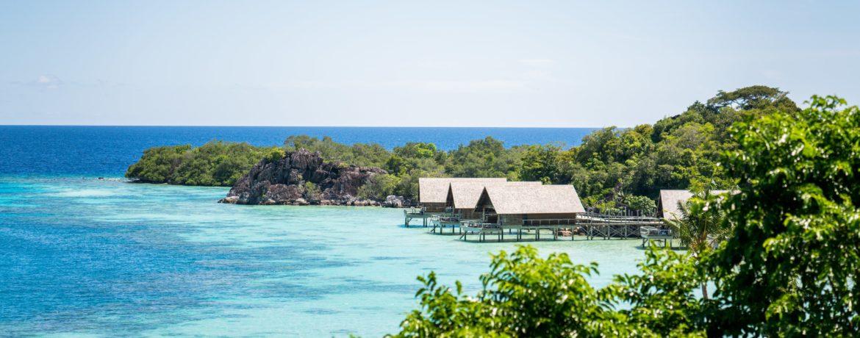 hôtel de luxe en indonésie