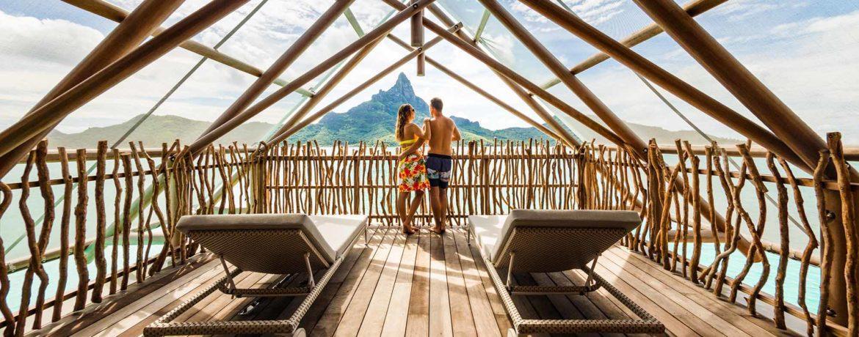 hôtel de luxe en polynésie