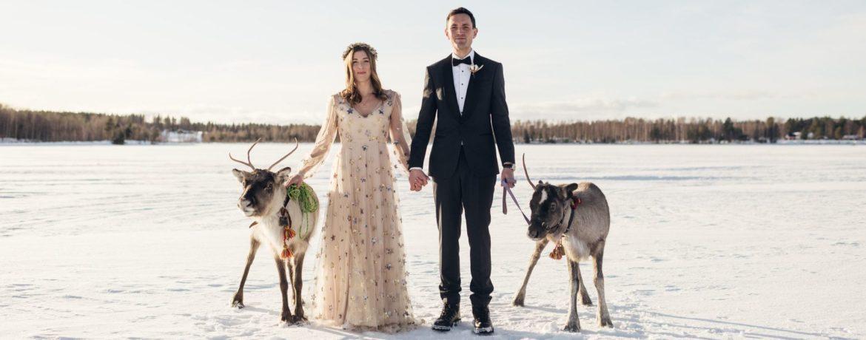 mariage à l étranger, voyage en laponie