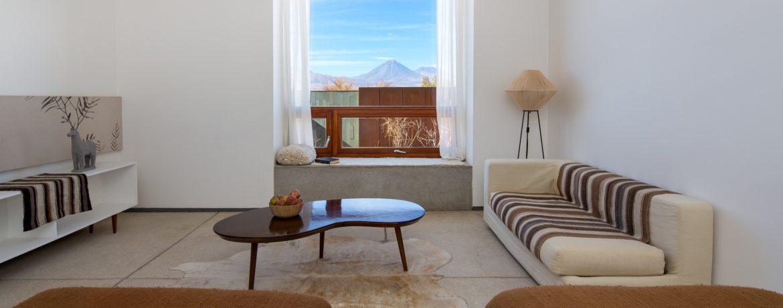 hôtel de luxe au désert d'Atacama